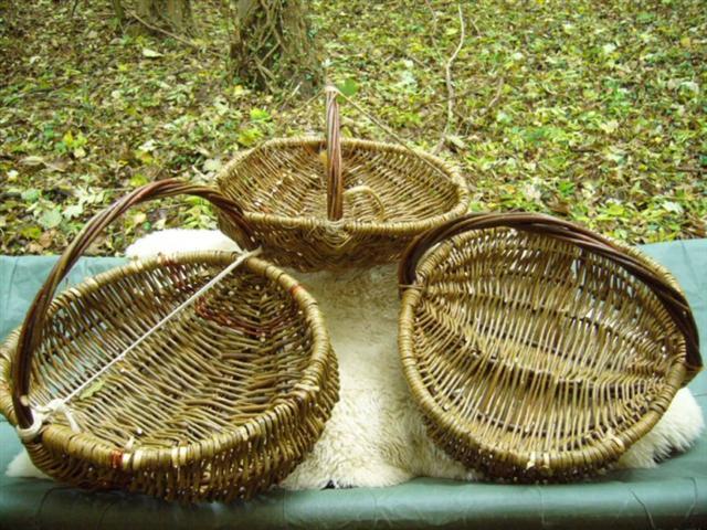 Willow Basket Weaving How To : Weaving laplander s natural lore