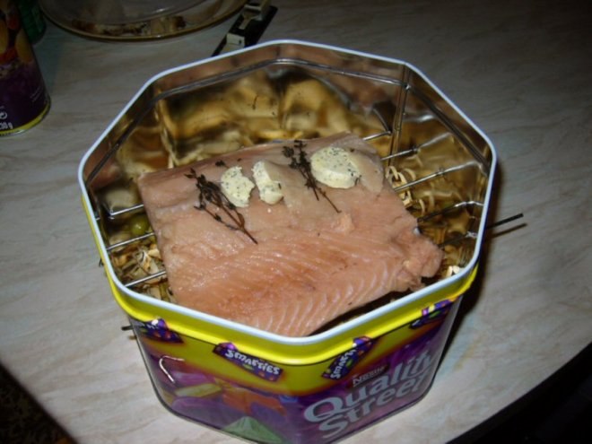 salmon-in-smoker