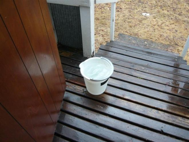 collecting rain water (Medium)