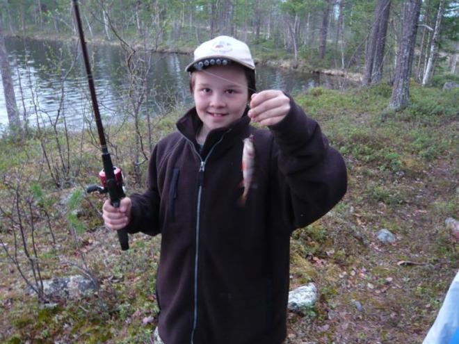 Simon with fish (Medium)