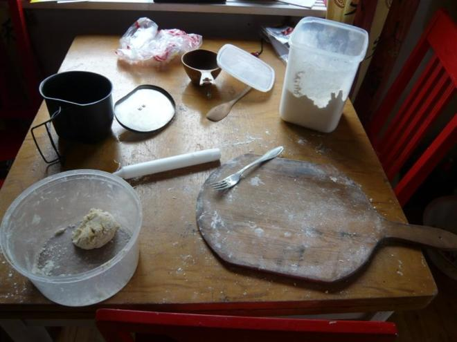 making Lapland bread (Large)