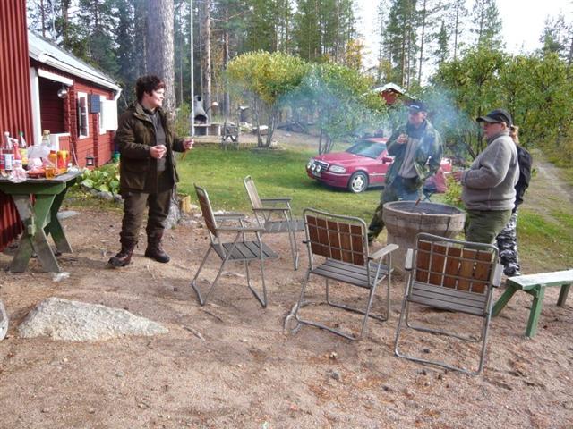 bbq at Anki's cabin (Small)