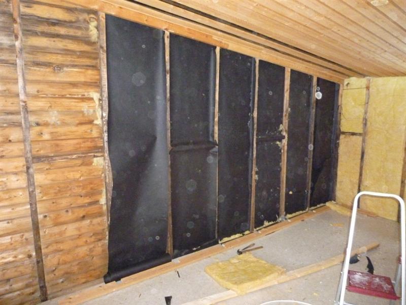 work on cabin in garden 1 laplander 39 s natural lore blog. Black Bedroom Furniture Sets. Home Design Ideas