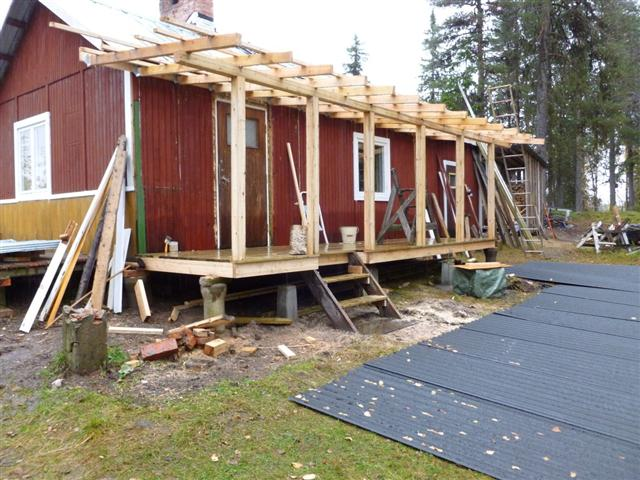 Building A Veranda On My Cabin 2 Laplander S Natural