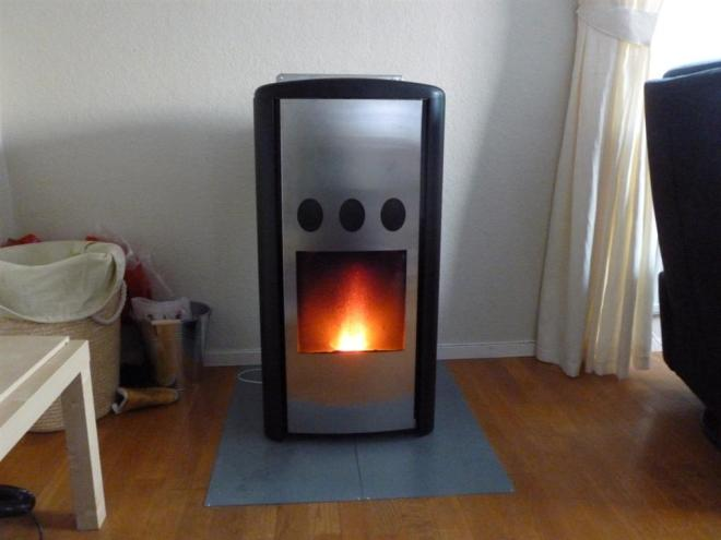 wood pellets stove