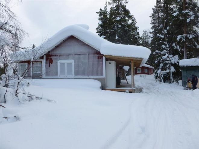 lapland cabin winter 2013