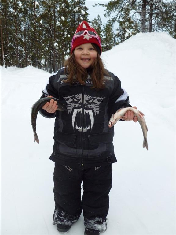 emma with two arctic char (Large)