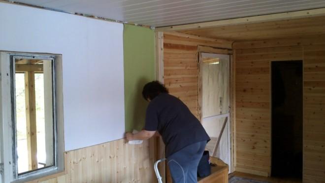 teres wallpapering
