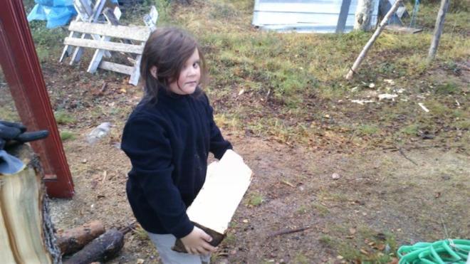 emma carrying wood (Large)