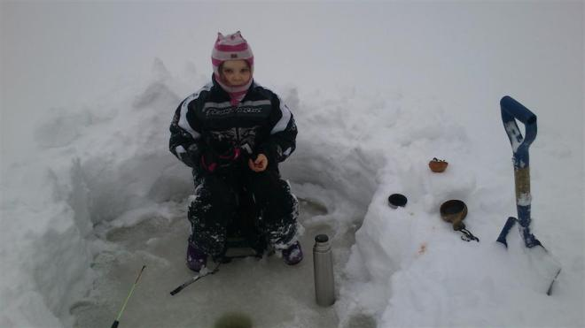 ice fishing 2014