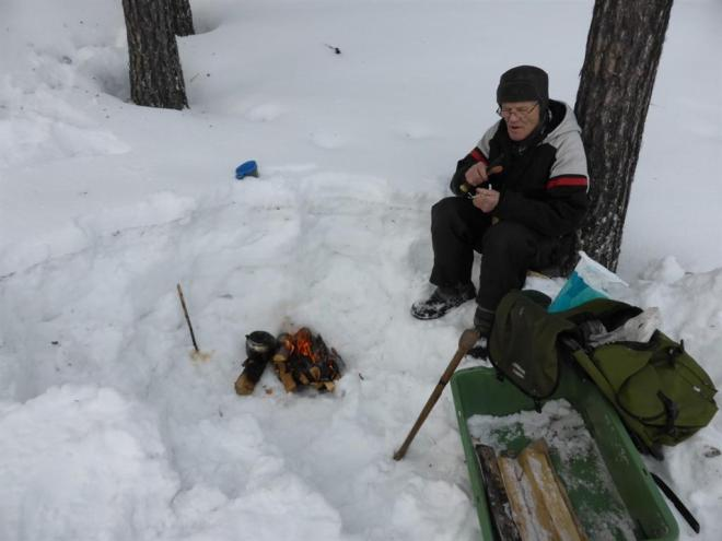 ice fishing in lapalnd