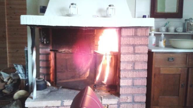 fire in cabin