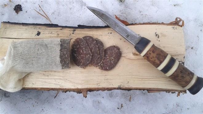 dried mincebeef sausage