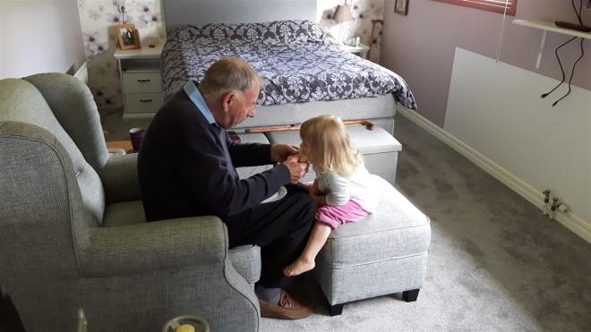 kelly and grandad