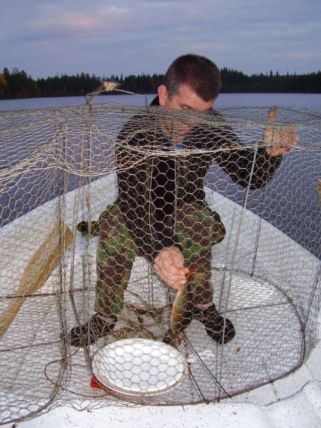 mjädar fish trap
