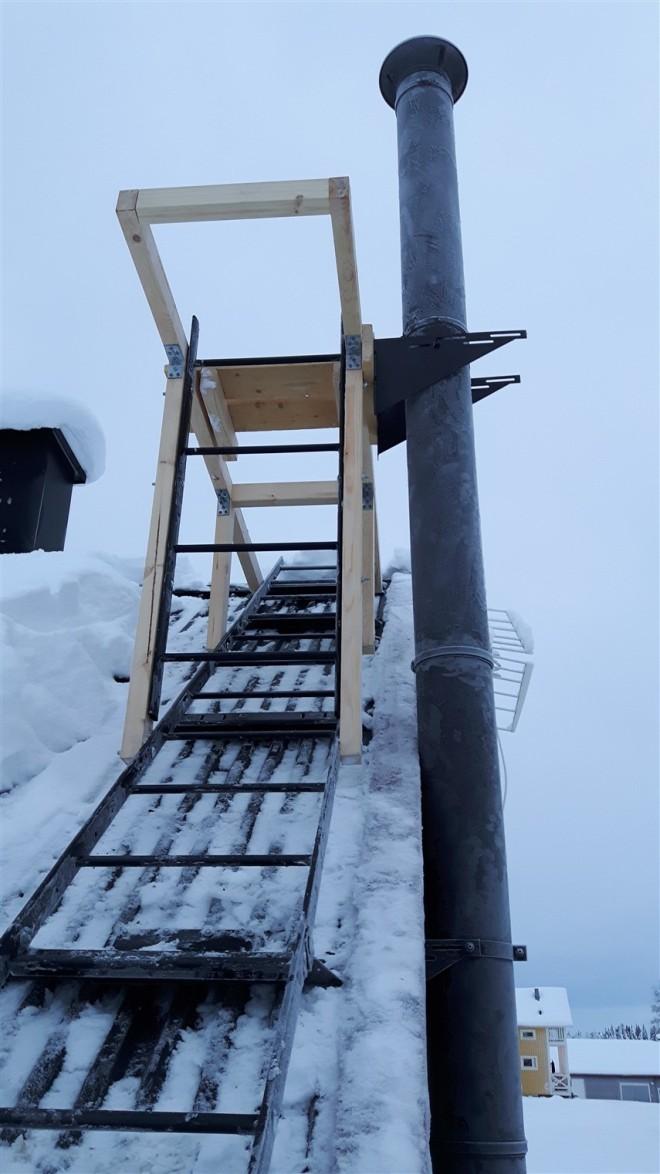 chimney-platform