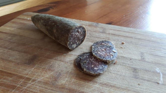 dried moose sausage
