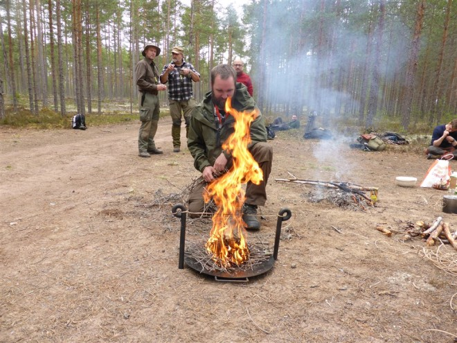 morakniv firelighting competition