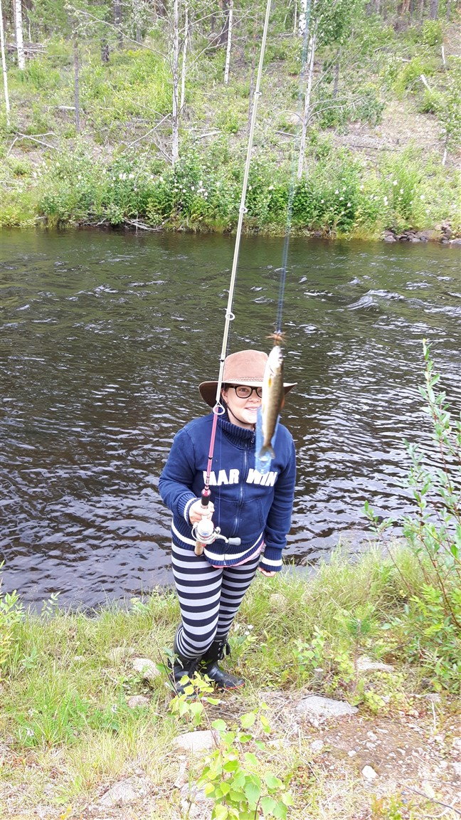 emma fly fishing