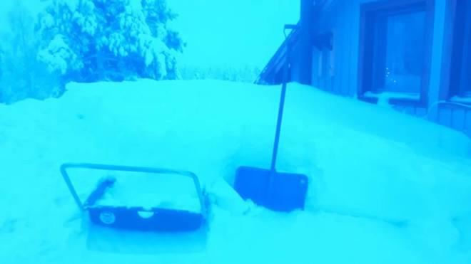 110cm snow