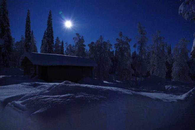 moonlight in lapland