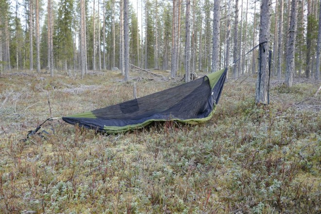 one-tree bivvy