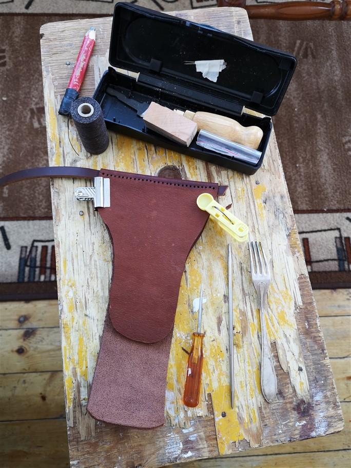 making axe sheath-1