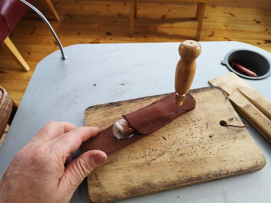making knife sheath