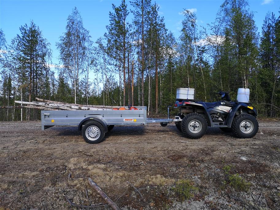atv and trailer